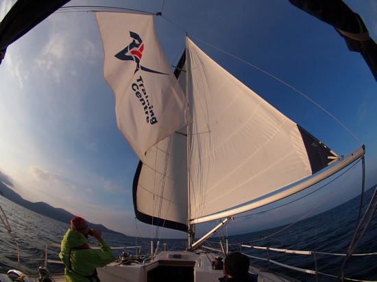 RYA ветроходен курс в Егейско море