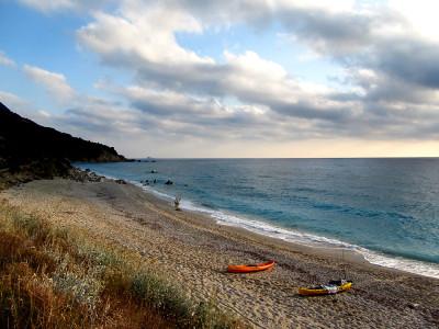 Каяци по бреговете на Лефкада