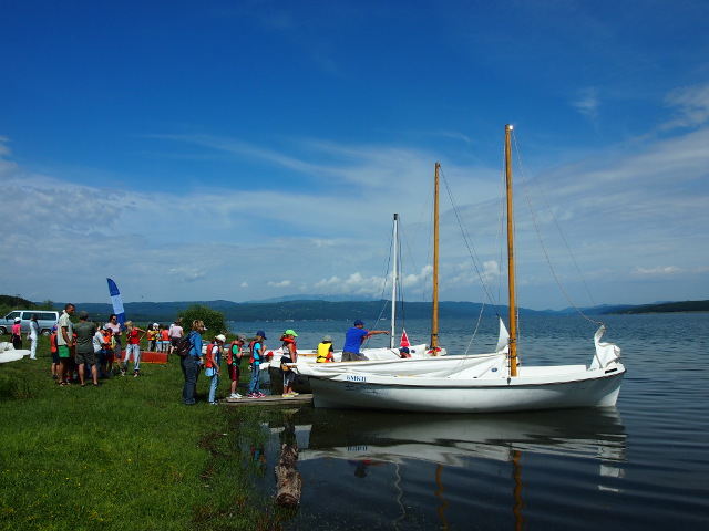 sailing with the Anglo-American school