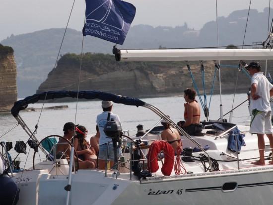Флотилия към Корфу @ Корфу