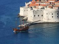 С яхта до Дубровник