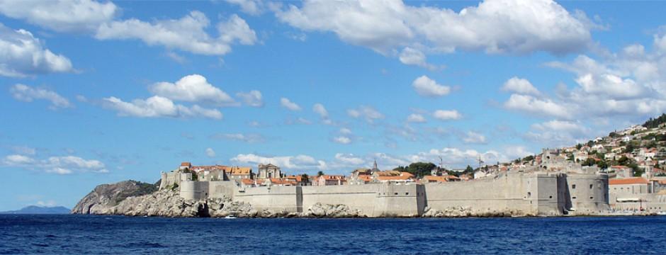 Дубровник, поглед от морето - слайдер