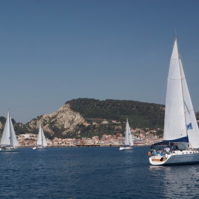 Плаване във флотилия (южно Йонийско море)