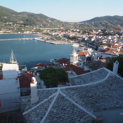 Гледка от Скопелос