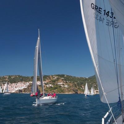 На състезание в Гърция