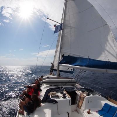 Плаване Корфу