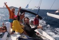 Плаване с вятъра към Лимнос