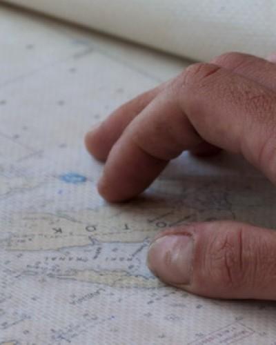 Морска карта - слайдер