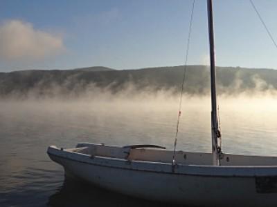 Рано сутрин преди отплаване