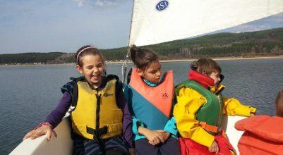 Първо плаване на язовир Искър за сезона
