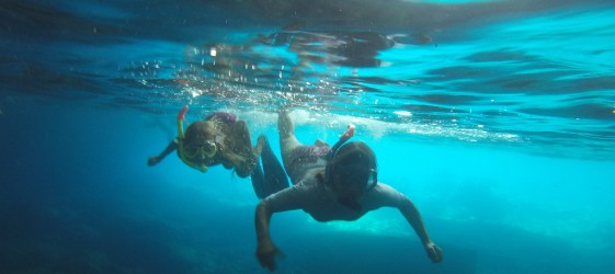Плуване под вода