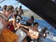 Южно Йонийско море-крен и екипаж