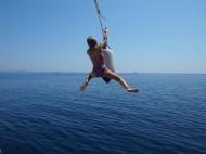 Гърция-деца-забава