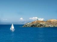 С яхта в Гърция - Циклади