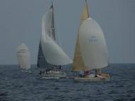X yacht Okyalos - спинакер