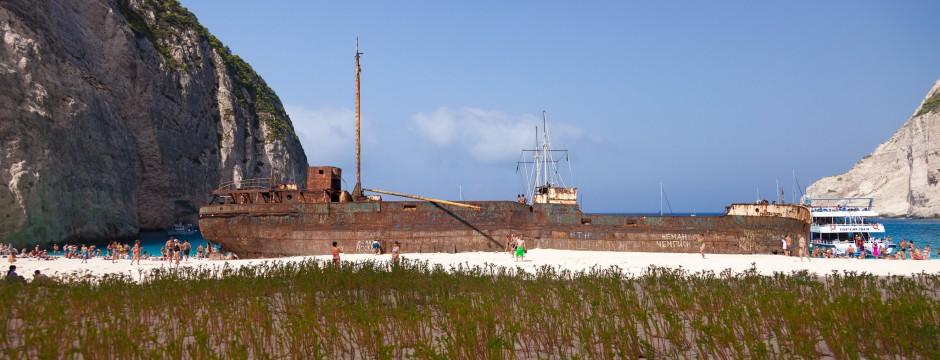 Южно Йонийско море - Закинтос - Залива на корабокрушенците