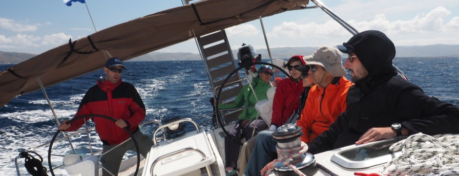Циклади - екипаж - яхта