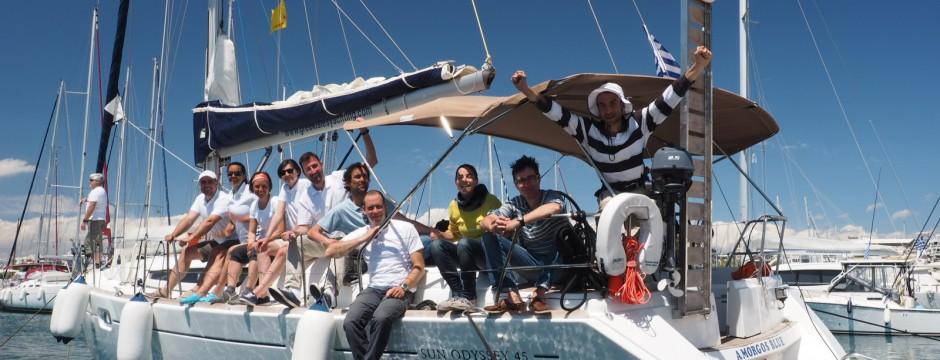 Циклади-яхта-екипаж