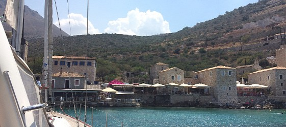 учебно плаване с ветроходна яхта, Южна Гърция