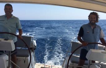 ветроходна практика в Гърция