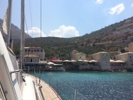 С яхта край Пелопонес