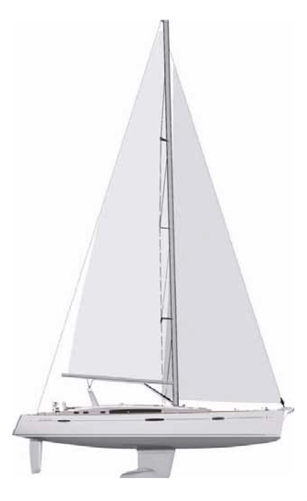 схема - яхта - Oceanis