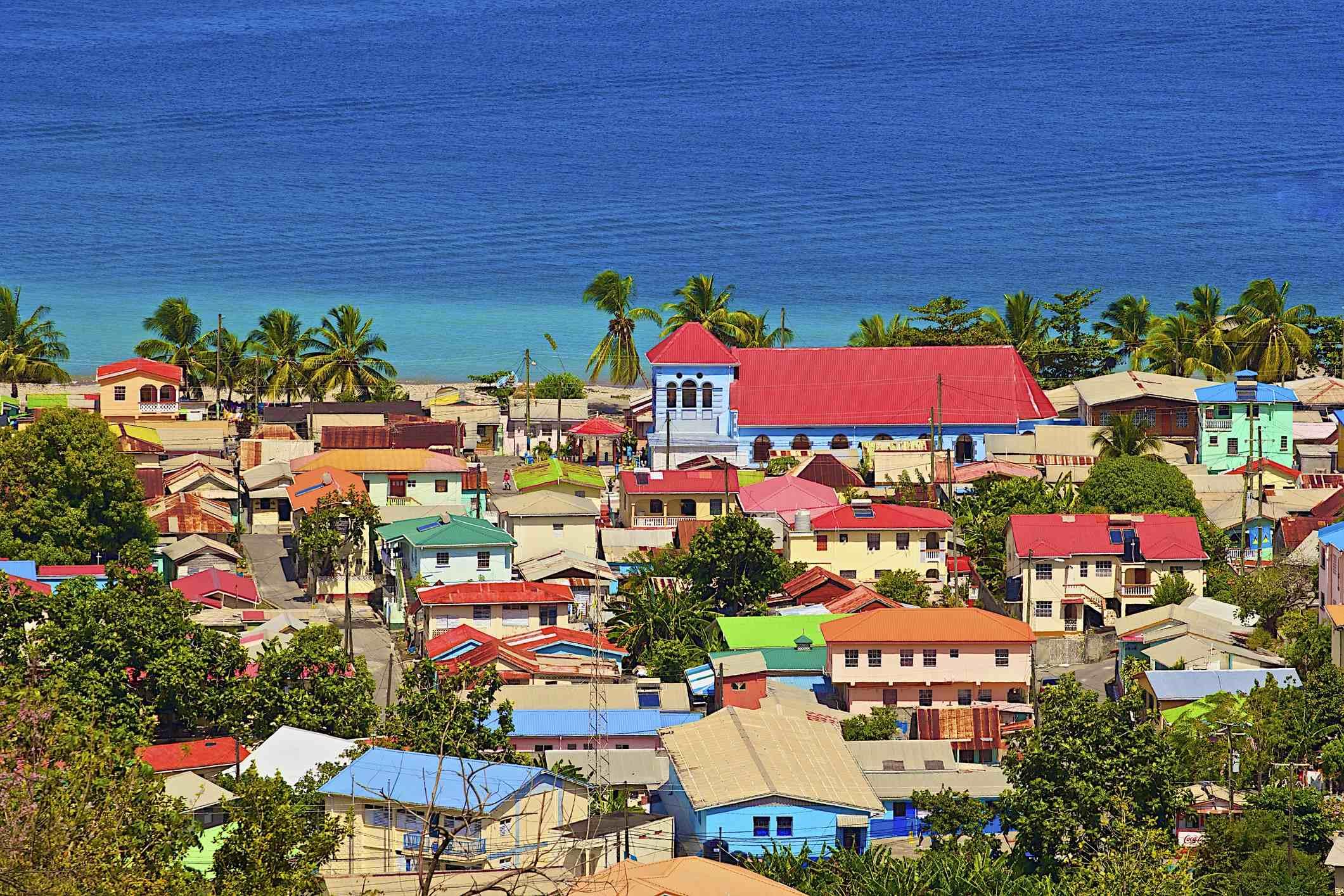 Кариби - Сейнт Луша