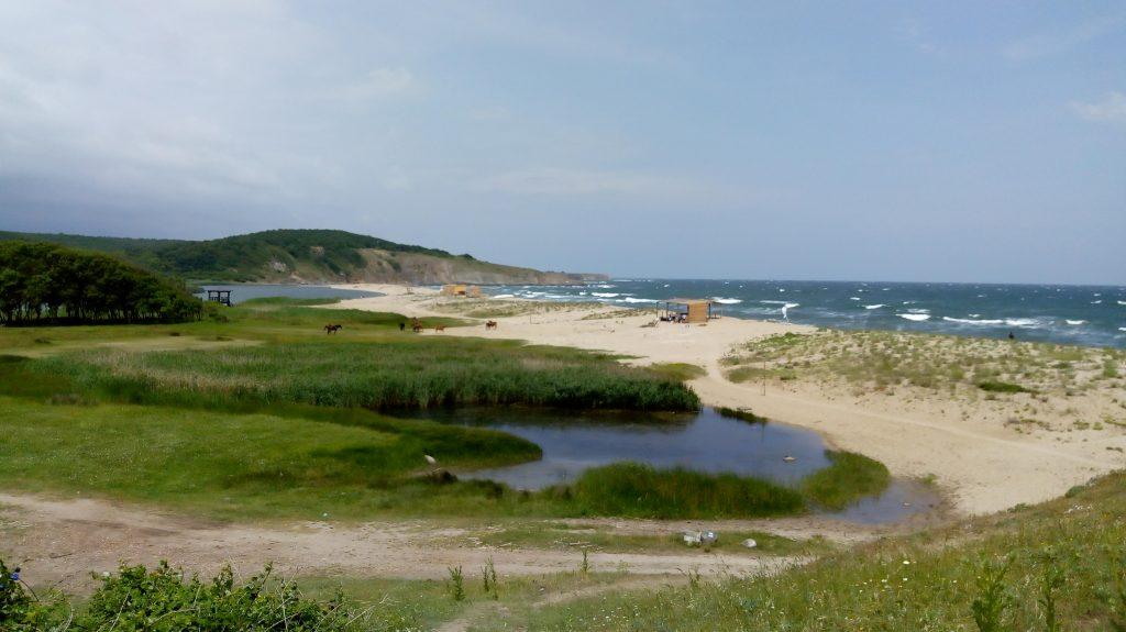 плаж Велека, Синеморец