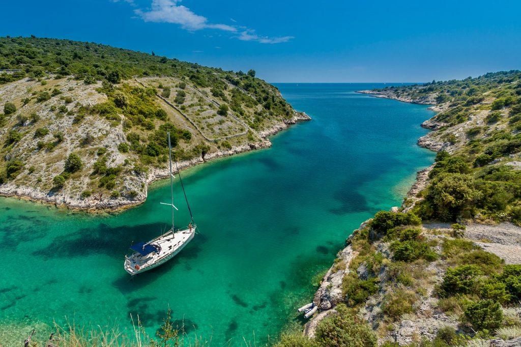 Гърция - яхта - бряг