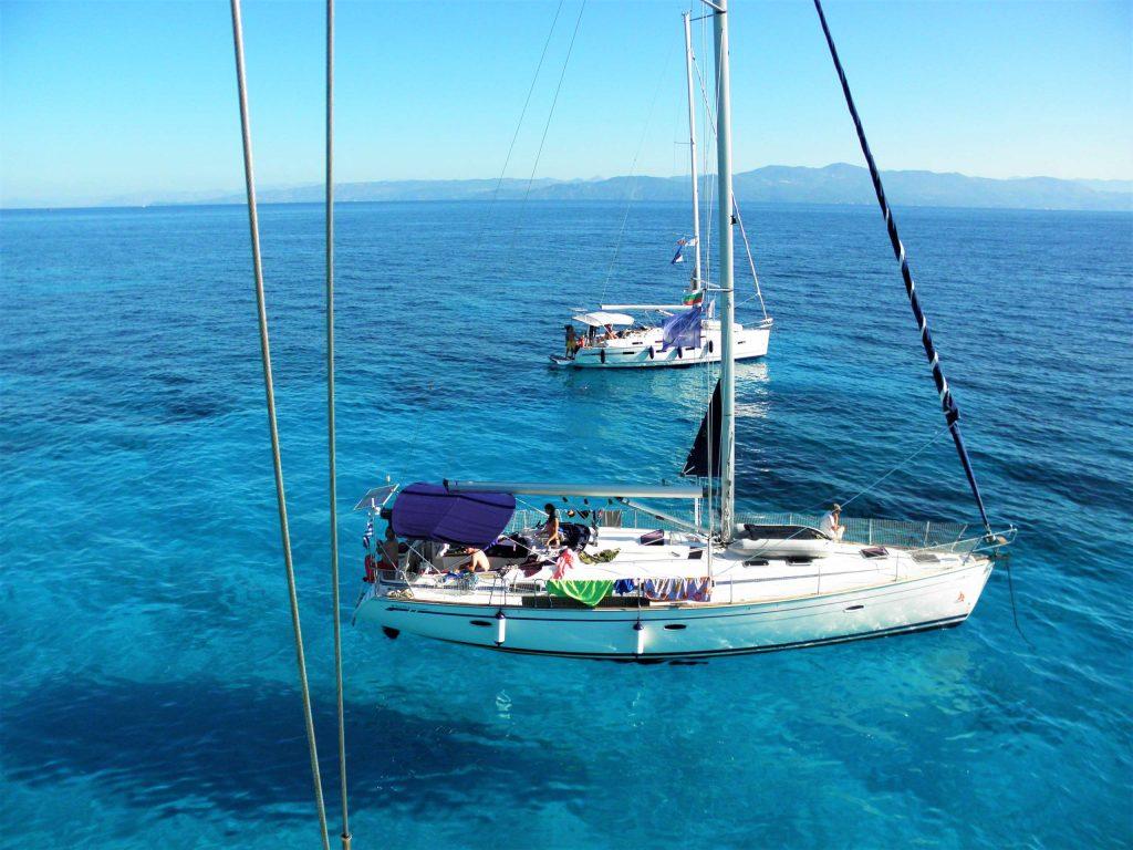 Северно Йонийско море - яхта - флотилия